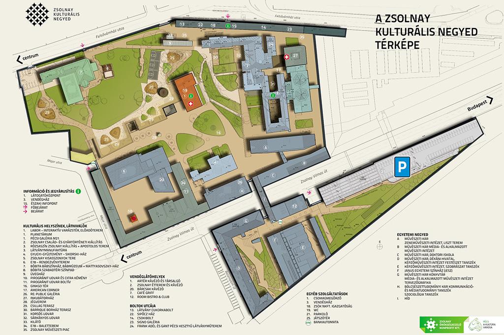 pécs zsolnay negyed térkép Az MSZT éves vándorgyűlése a Zsolnay Negyedben | Szociológia tanszék